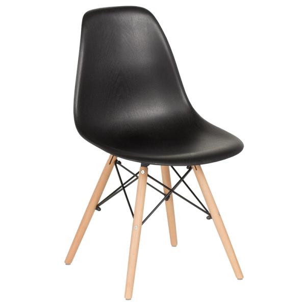 Трапезен стол-9956D черен