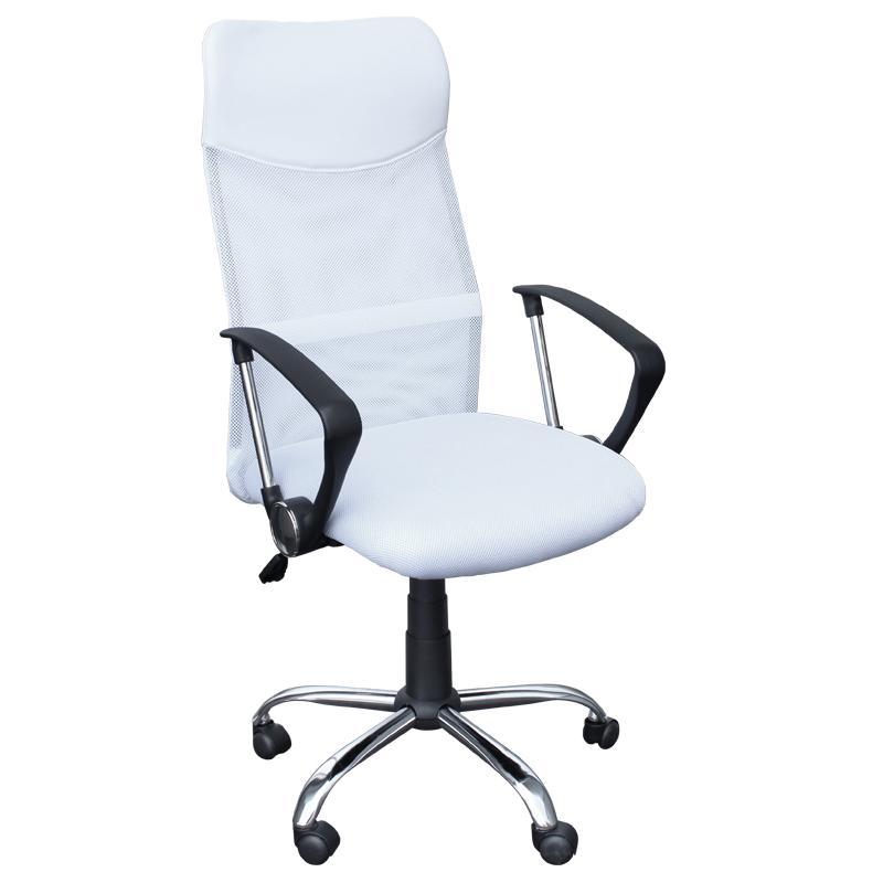 Директорски стол - 6083 бял