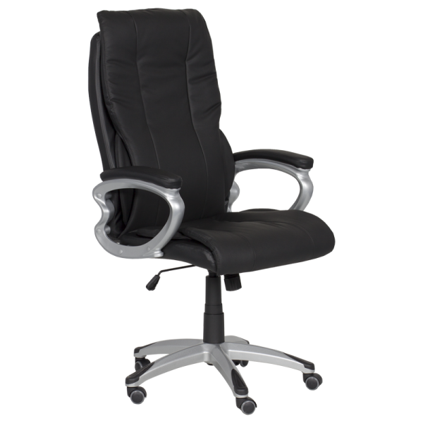 Директорски стол - 6503 черен LUX