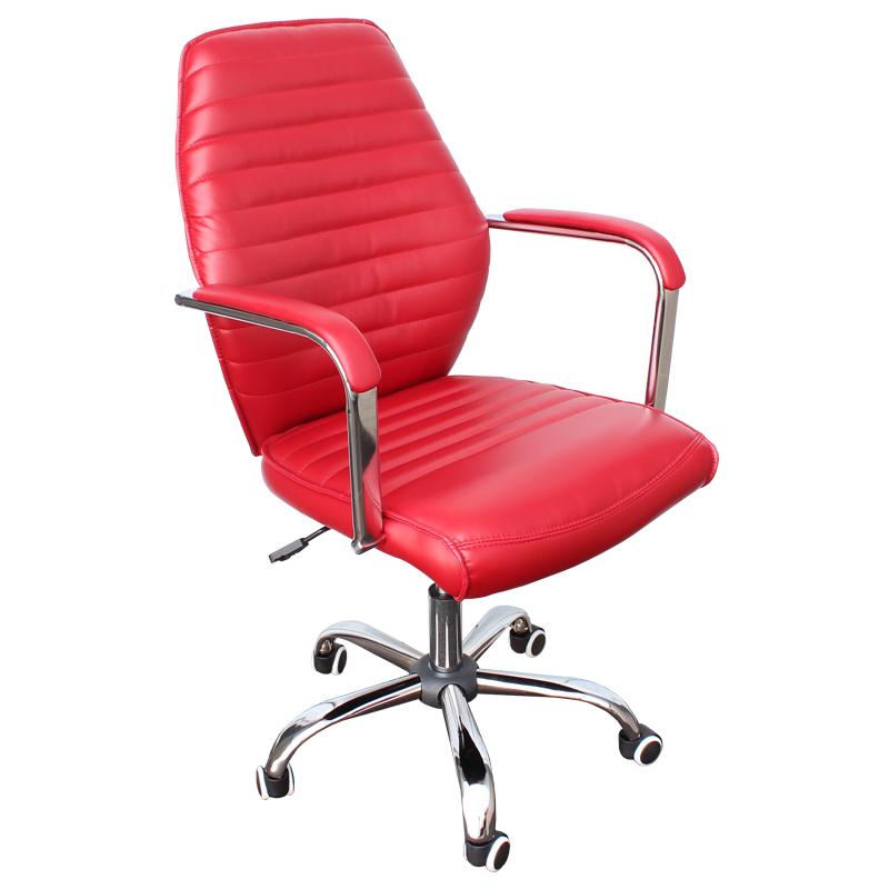 Работен стол - 6074-1F червен