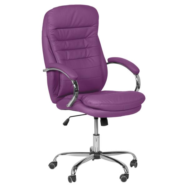 Директорски стол - 6113 лилав