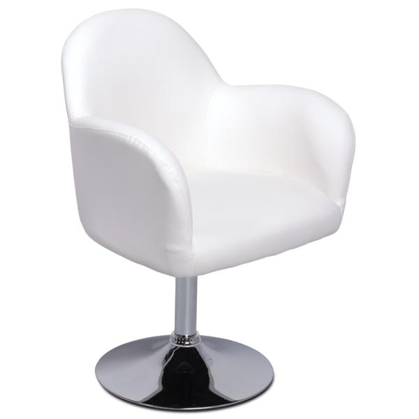 Бар стол 3062 - бял