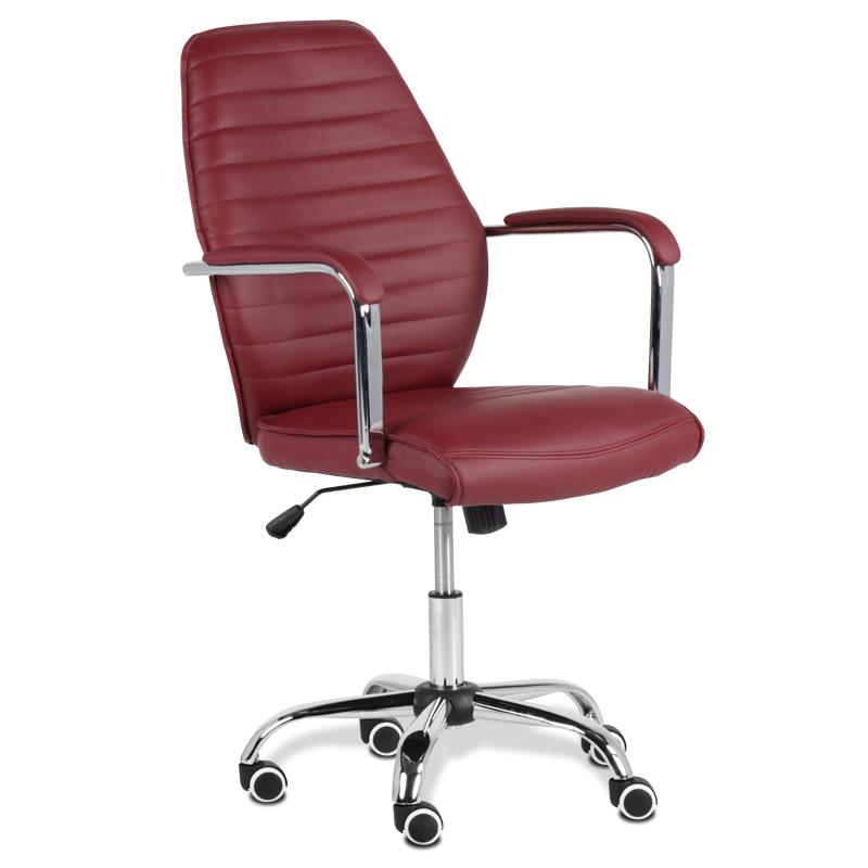 Работен стол - 6074-1F бордо
