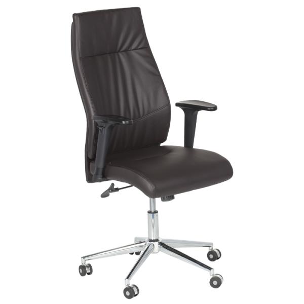 Директорски стол - 6047 тъмно кафяв