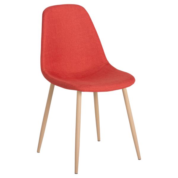 Трапезен стол-511 S тъмно оранжев