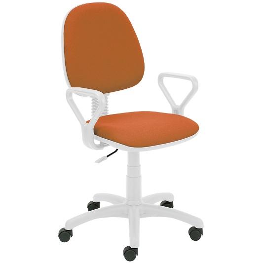 Работен стол - Regal White оранжев