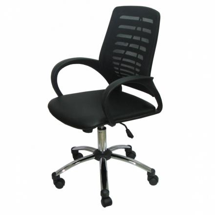 Работен стол Rony-черен