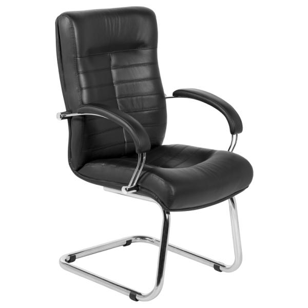Посетителски стол - Orion черен