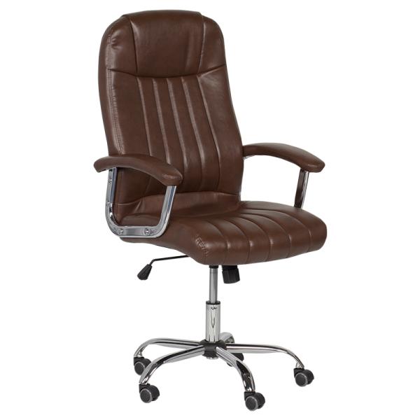 Директорски стол - 6181 искрящо кафяв