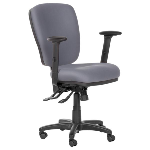 Работен стол - Clara сив