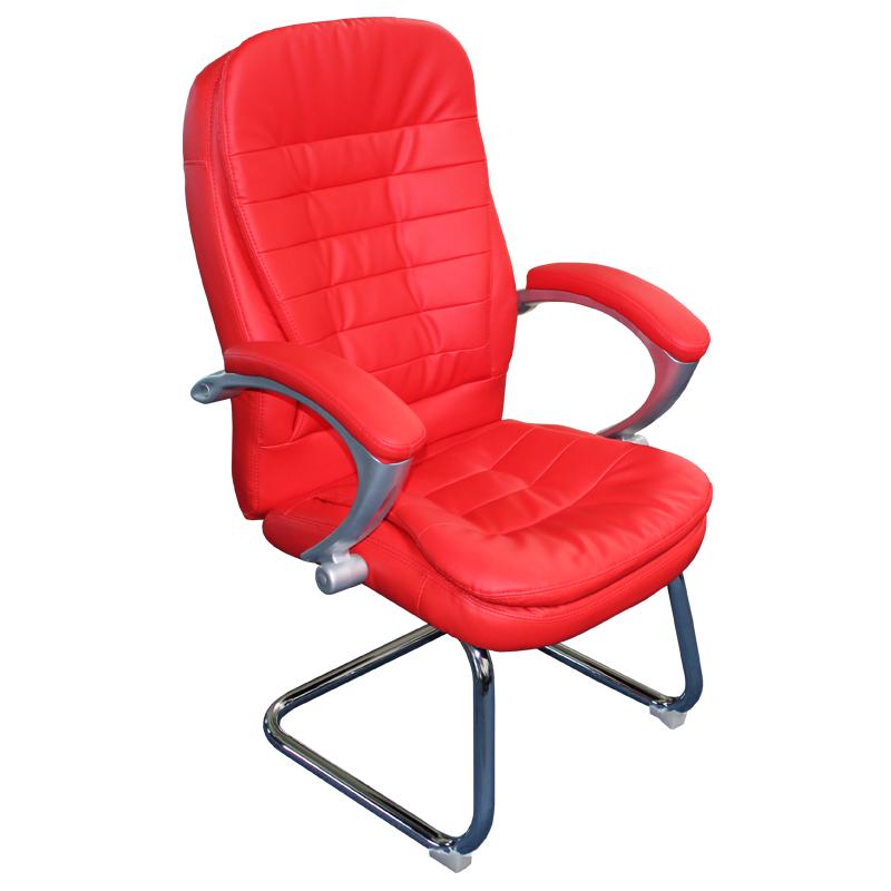Посетителски стол - 6054 червен