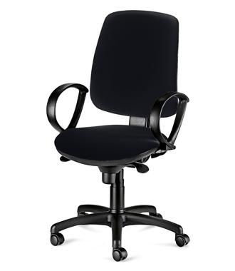 Работен стол - Атеа черен