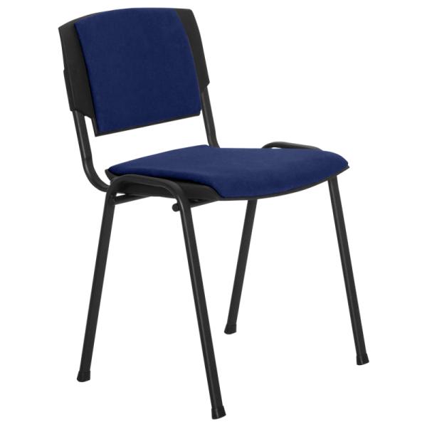 Посетителски стол - Prizma Lux син