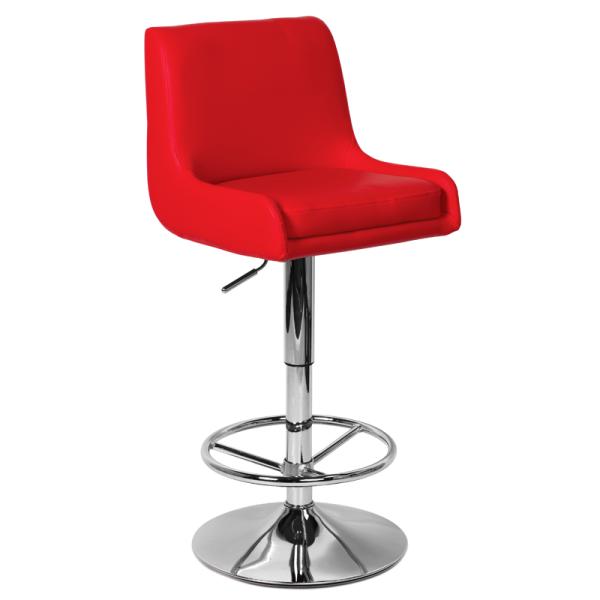 Бар стол 3066 - червен