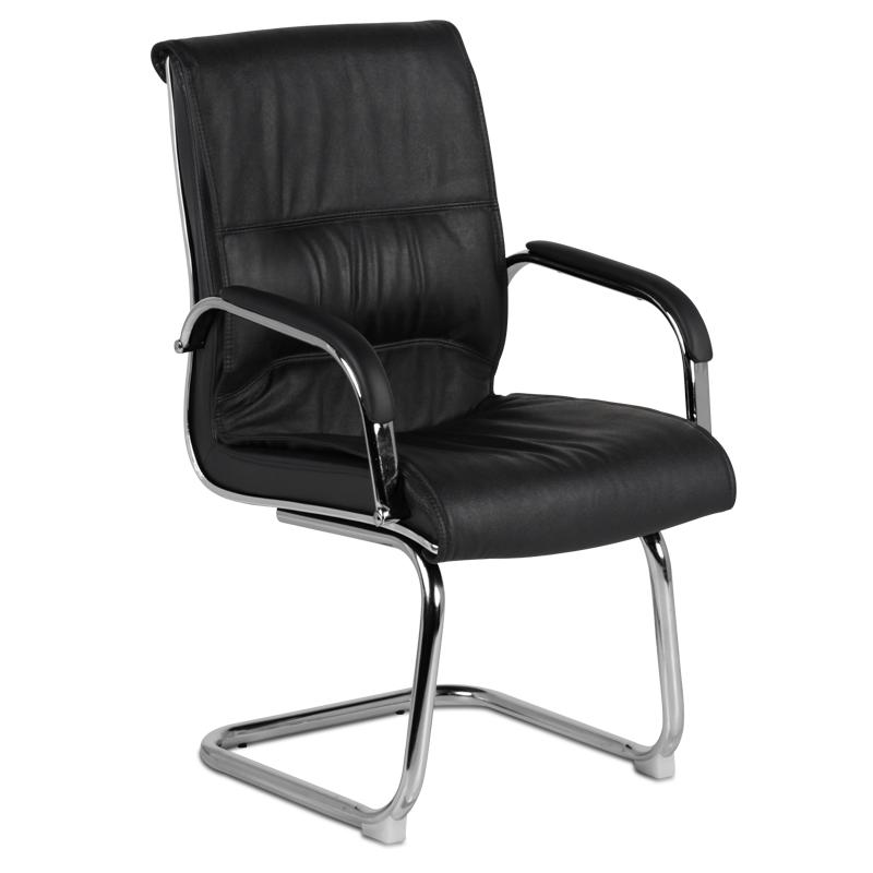 Посетителски стол 8014 - черен