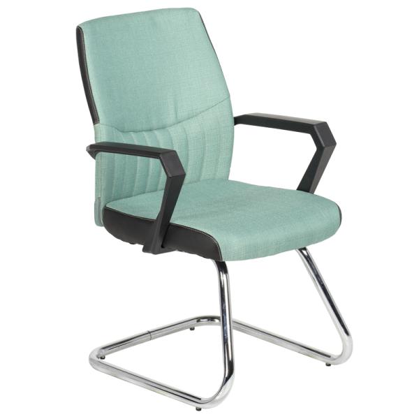 Посетителски стол - 6007 светло зелен