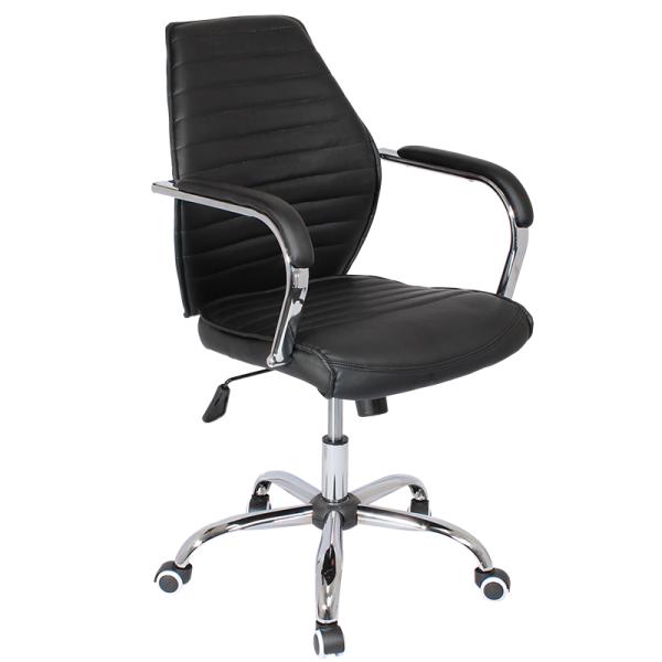 Работен стол - 6074-1F черен