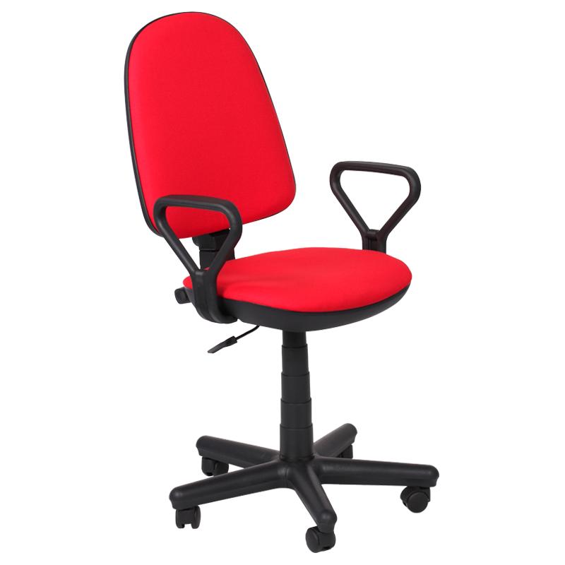 Работен стол - Comfort червен
