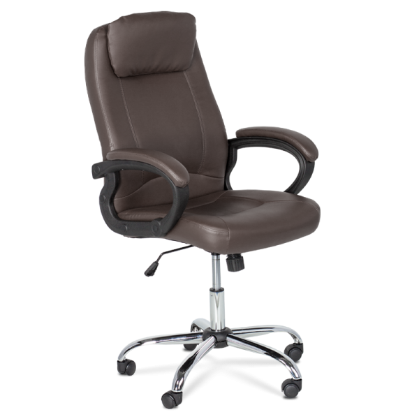 Директорски стол - 6131 тъмно кафяво