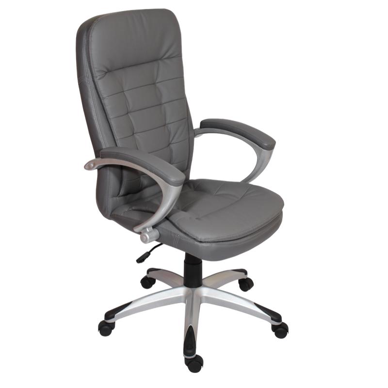 Директорски стол 6013 F - тъмно сив