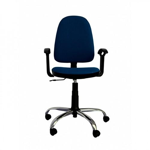 Работен стол Prestige Steel - син