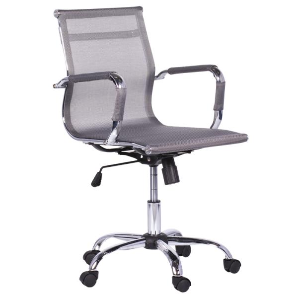 Работен стол - 8801 сребрист