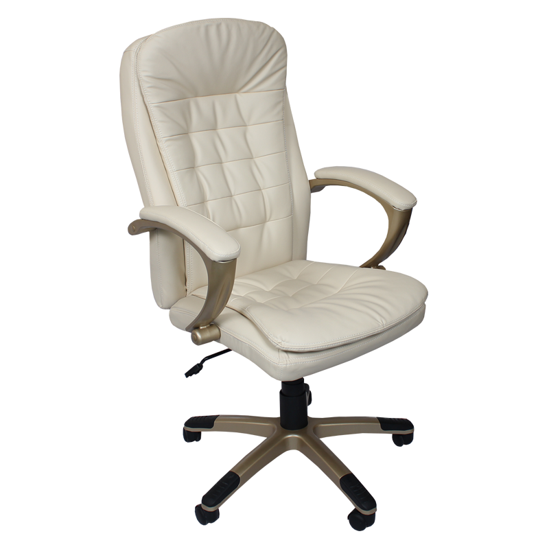 Директорски стол 6013 H - крем