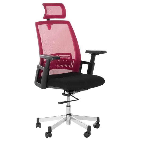 Работен стол - 7514 бордо/графит