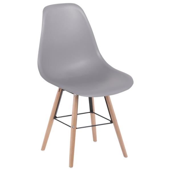 Трапезен стол - 9957 S сив