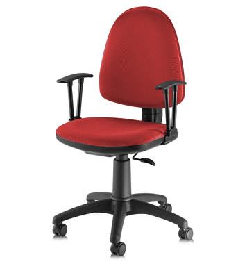 Работен стол - Flite  червен