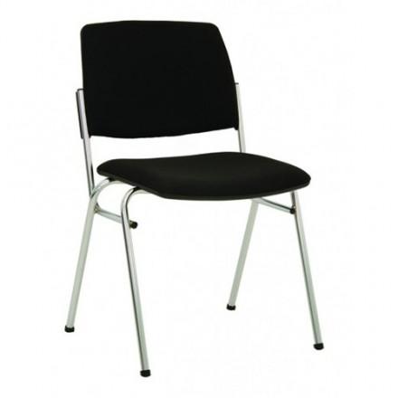 Посетителски стол Isit Chrome - сив
