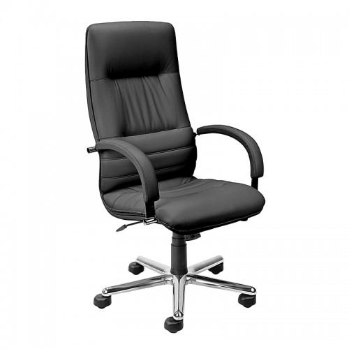Директорски стол - Linea Steel черен