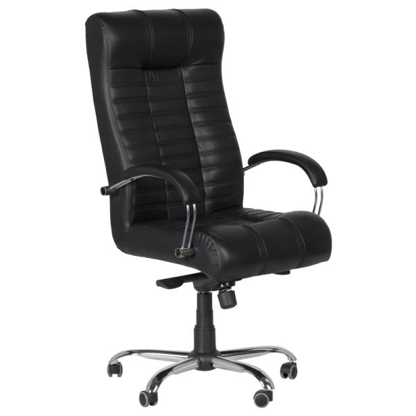 Директорски стол - Utopia черен LUX