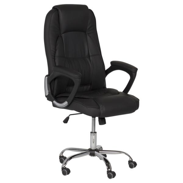 Директорски стол - 6505 черен LUX