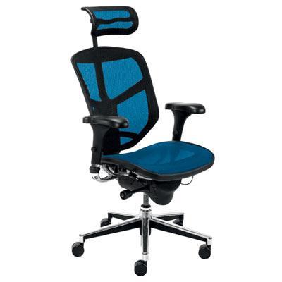 Директорски стол - Enjoy син
