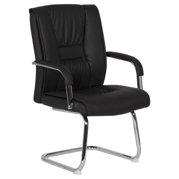 Посетителски стол - 6540 черен