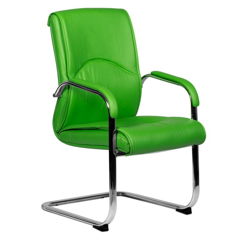 Посетителски стол - 6040 зелен