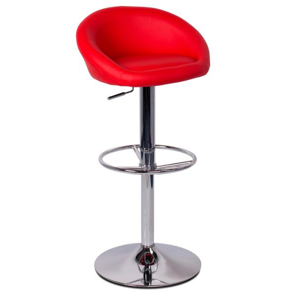 Бар стол 3061 - червен