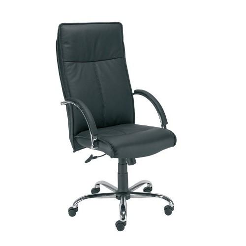 Директорски стол - Sabio Steel черен