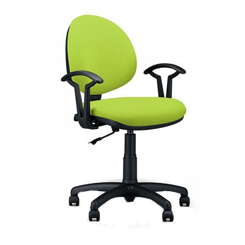 Работен стол Smart Black - зелен