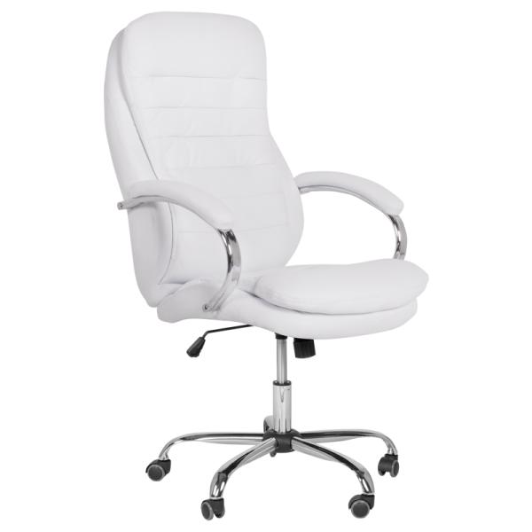 Директорски стол - 6113 бял