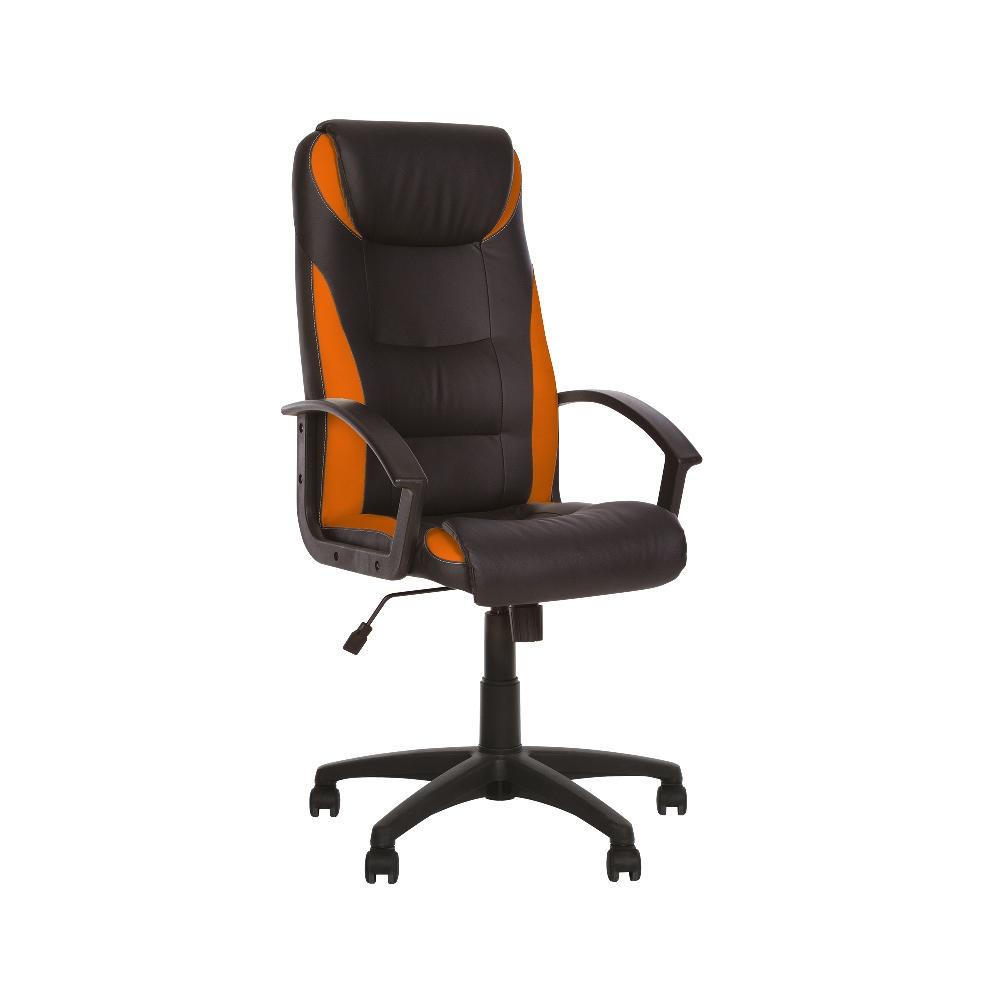 Директорски стол - Tokyo черен/оранжев