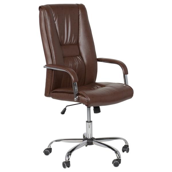 Директорски стол - 6500 искрящо кафяв
