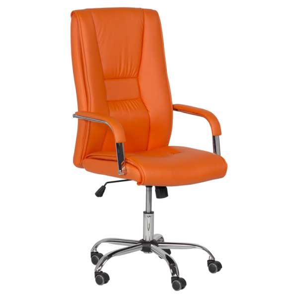 Директорски стол - 6500 оранжев