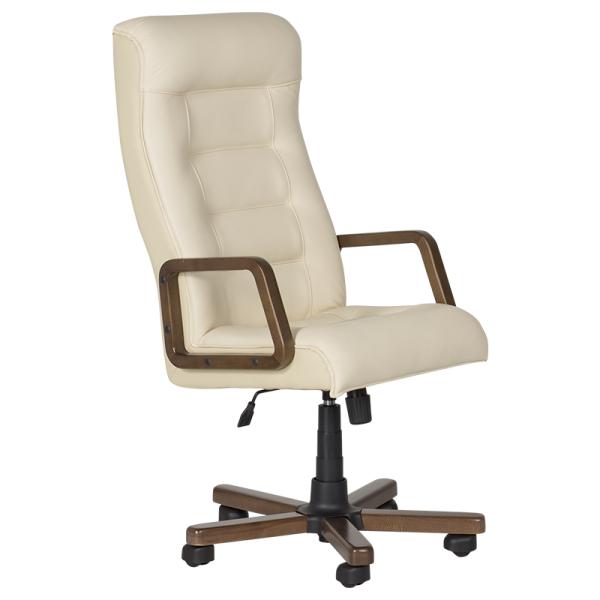 Директорски стол - Royal бял