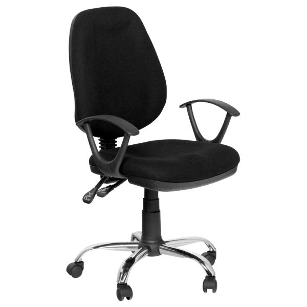 Работен стол - 7068-10 черен