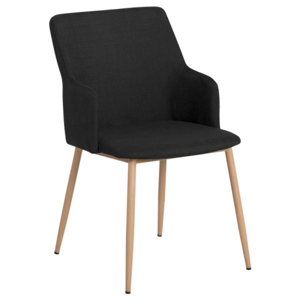 Трапезен стол - 512 черен