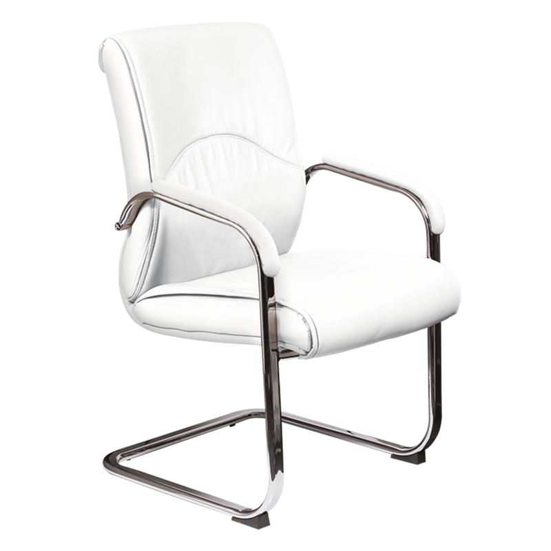 Посетителски стол - 6040 бял