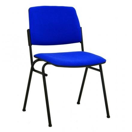 Посетителски стол Isit Black - син