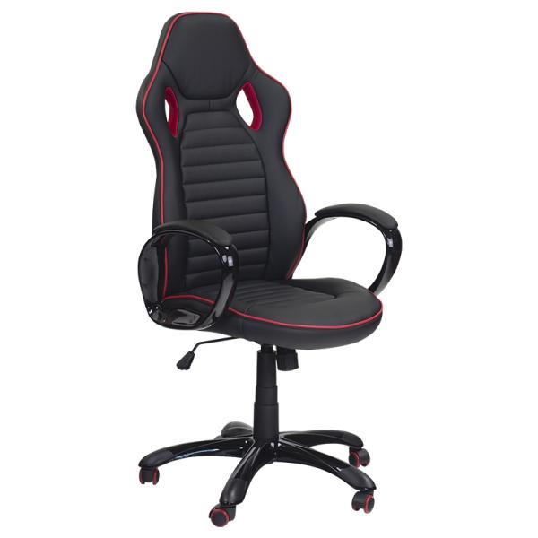 Директорски стол - 7502 черен/червен